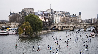 Nautic SUP Paris Crossing 2018